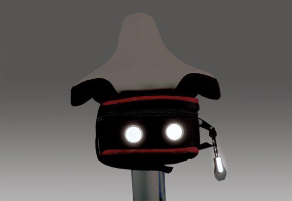 1613web 2 <h4><strong>COMPACT MINIMALIST NIGHT REFLECTIVE SADDLE BAG</strong></h4> <ul> <li>Minimalist compact size saddle bag</li> <li>Anti-slippery strap securely fastened the bag to the saddle</li> <li>Proprietary reflective parts to enhance night time visibility</li> </ul>