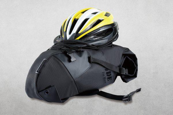 1713stone 2 1 <h4>CONVERTIBLE SADDLE BAG BACKPACK</h4> <ul>  <li>Turning bike saddle bag into a drawstring backpack.</li>  <li>Virtually fits all bike seats.</li>  <li>Roll-top closure for large storage.</li>  <li>Design for use of bungee cord for extra loading</li> </ul>  <style>.embed-container { position: relative; padding-bottom: 56.25%; height: 0; overflow: hidden; max-width: 100%; } .embed-container iframe, .embed-container object, .embed-container embed { position: absolute; top: 0; left: 0; width: 100%; height: 100%; }</style><div class='embed-container'><iframe src='https://www.youtube.com/embed/m6jk4-CZql4' frameborder='0' allowfullscreen></iframe></div>